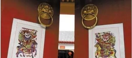关于朱仙镇木版年画起源传说