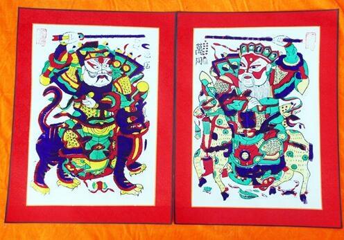 开封朱仙镇木版年画的制作步骤